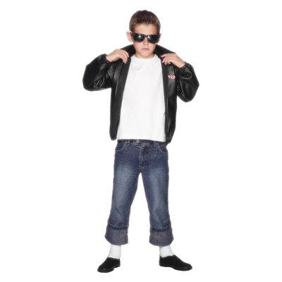 Grease T-Birds Jasje - zwart