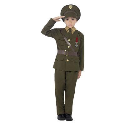 Legerofficier Kostuum - Groen