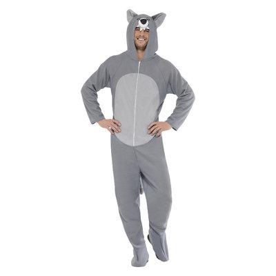 Wolf Kostuum - Grijs