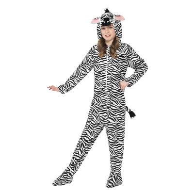 Zebra Kostuum - Zwart-wit