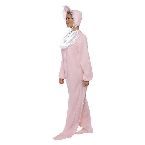 Smiffys Babykruippakje Kostuum - Roze