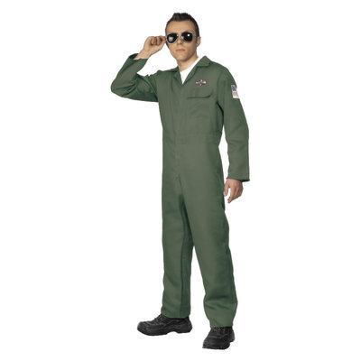 Piloot Kostuum - Groen