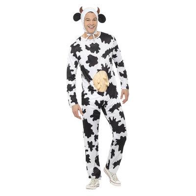 Koe Kostuum - Zwart-wit