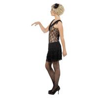 Smiffys Al Dat Jazz Flapper Kostuum - Zwart