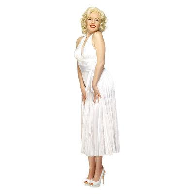 Marilyn Monroe Kostuum - Wit