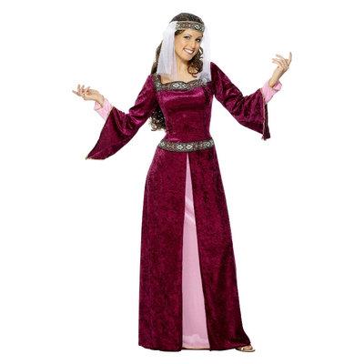 Lady Marian Kostuum - Bordeaux