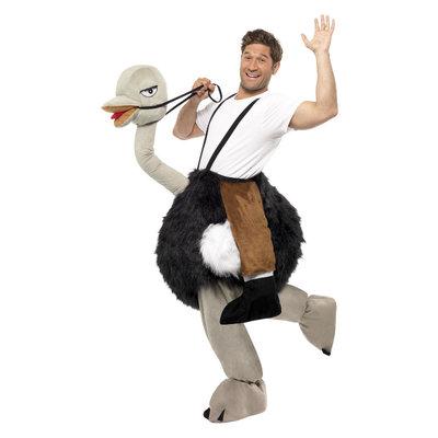 Struisvogel Kostuum - Zwart