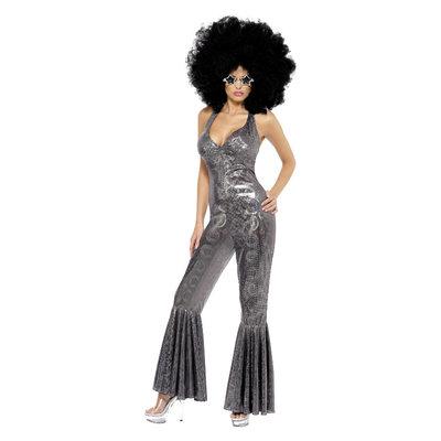 Disco Diva Kostuum - Zilver