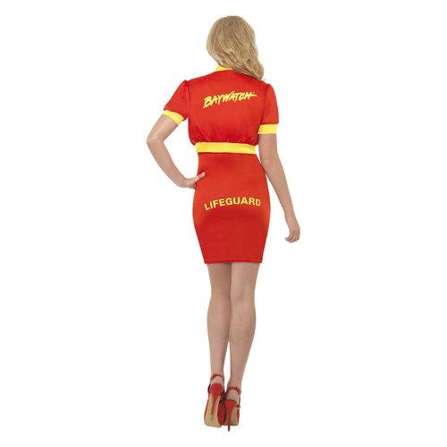 Smiffys Baywatch  Kostuum - Rood