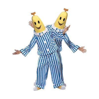 Bananen In Pyjama Kostuum - Blauw