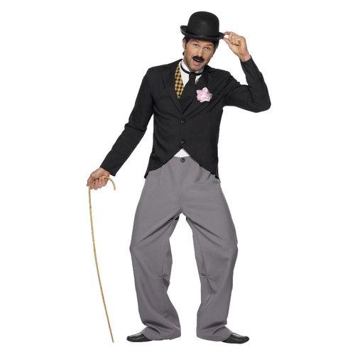 Smiffys 1920 Filmster Kostuum - Zwart