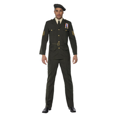 Leger Officer - Groen