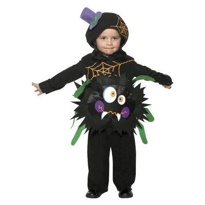 Gek Spider Kostuum - Zwart