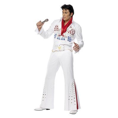 Elvis Amerikaanse Adelaar Kostuum - Wit
