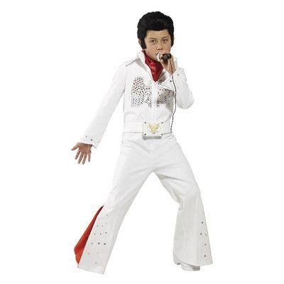 Elvis Kostuum - Wit