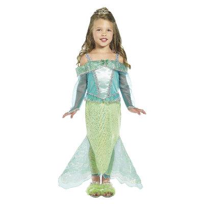 Zeemeermin Prinses Kostuum - Groen