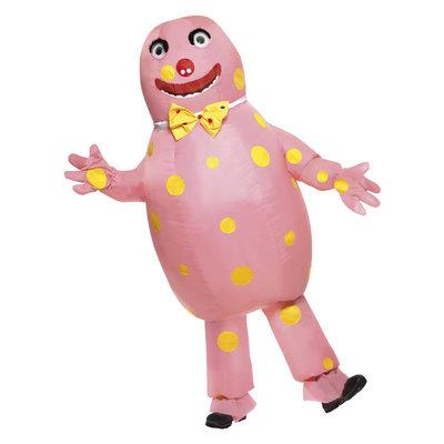 Mr Blobby Kostuum - Roze