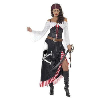 Piratendame Swashbuckler - Zwart