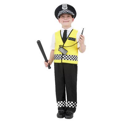 Politie Kostuum - Zwart