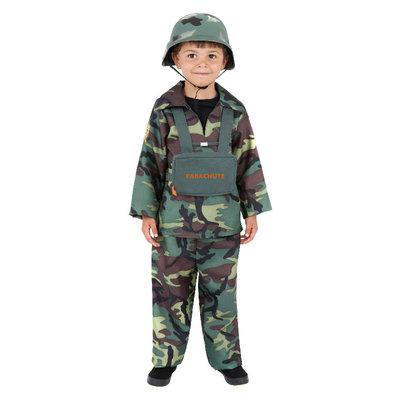Leger Jongen Kostuum - Camouflage