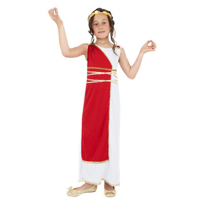 Grieks Meisje Kostuum - Rood