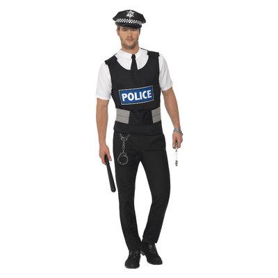 Politieagent Onmiddellijk Kit - Zwart