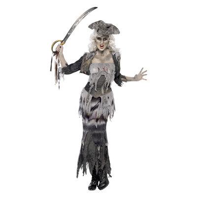 Spookschip Ghoulina Kostuum - Grijs