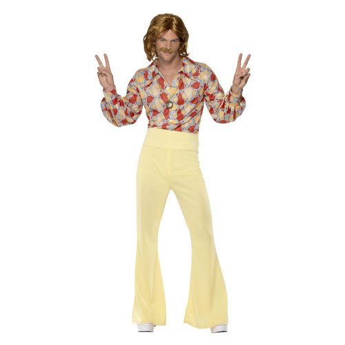 Smiffys 1960 Groovy Man Kostuum - Patroon