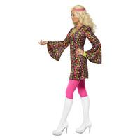 Smiffys 1960 Cnd Kostuum - Multi-gekleurd