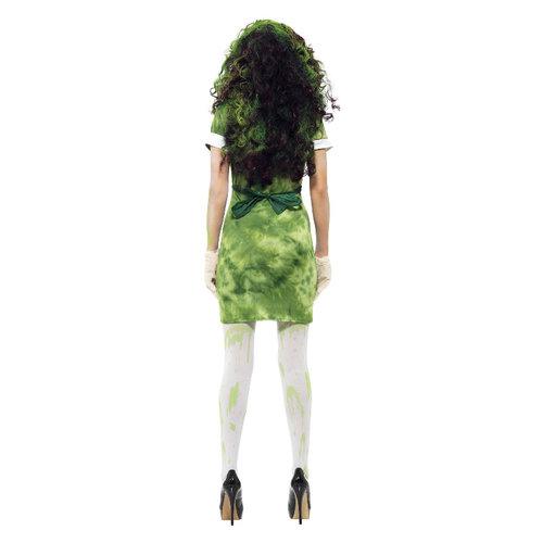 Smiffys Biohazard Vrouwelijke Kostuum - Groen