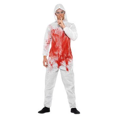 Bloederig Forensisch Overall Kostuum