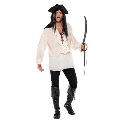 Piraatoverhemd - Ivoor