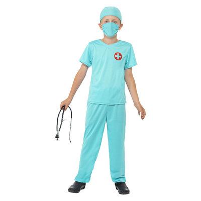 Chirurg Kostuum - Blauw