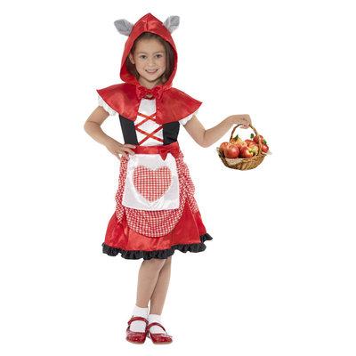 Roodkapje Kostuum - Rood