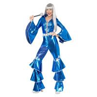 Smiffys 1970 Dancing Droom Kostuum - Blauw