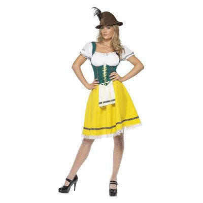 Oktoberfest Kostuum - Dames - Geel