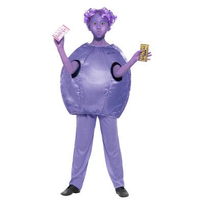 Roald Dahl Deluxe Violet Beauderest Kostuum - Purp