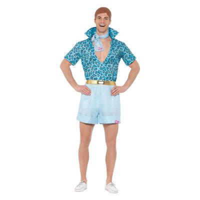 Barbie - Safari Ken Kostuum - Blauw