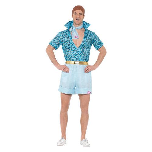 Smiffys Barbie - Safari Ken Kostuum - Blauw