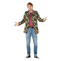 Smiffys Alleen Dwazen En Paarden - Rodney Kostuum - Camouflage