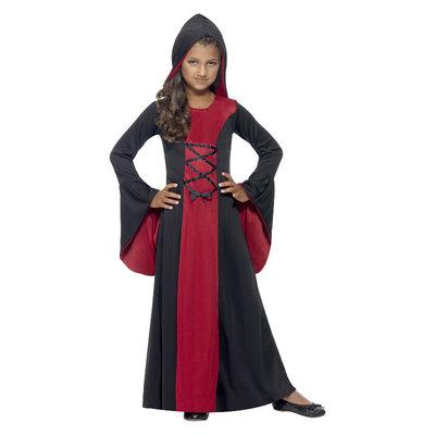 Vamp Kostuum - Rood En Zwart