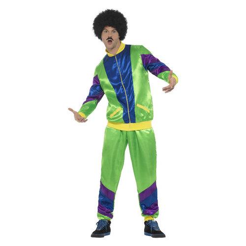 Smiffys 80s Hoogte Van De Mode Shell Pak Kostuum - Man - Gr