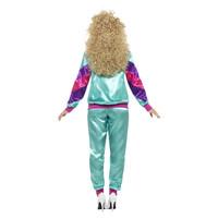 Smiffys 80s Hoogte Van De Mode Shell Pak Kostuum - Vrouw -
