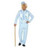 Smiffys 90s Smoking Kostuum - Blauw