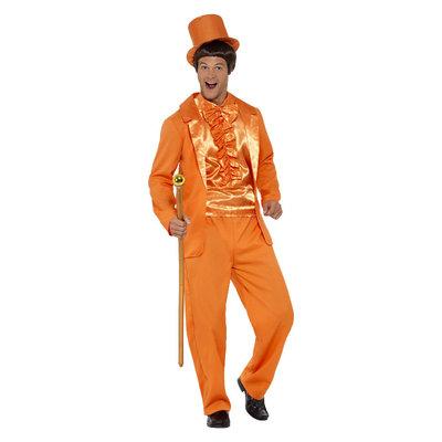 90s Dom Smoking Kostuum - Oranje