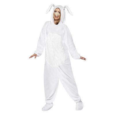 Konijn Kostuum - Wit