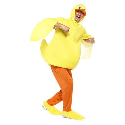 Eend Kostuum - Met Bodysuit - Broeken - Geel