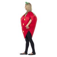 Smiffys Aardbei Kostuum - Rood