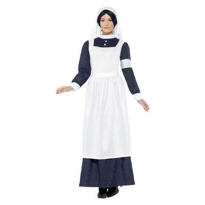 Wereldoorlog Verpleegster Kostuum - Wit