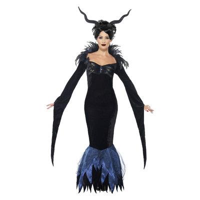 Dame Ravenzwart Kostuum